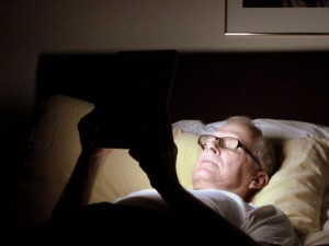 Schlafstörung durch Tablet-PCs